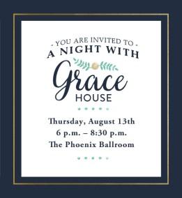 Evite for Grace House